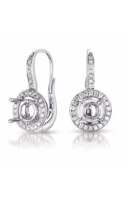 S. Kashi and Sons Halo Earrings E7793-50WG product image