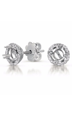 S. Kashi and Sons Halo Earrings E7786-4.0MWG product image
