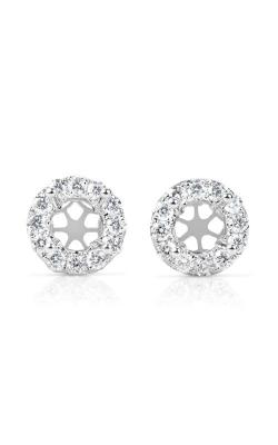 S. Kashi and Sons Halo Earrings E7855-1WG product image