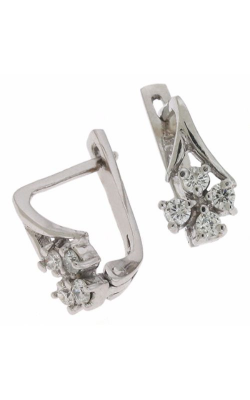 S. Kashi and Sons Fashion Earrings E1424WG product image