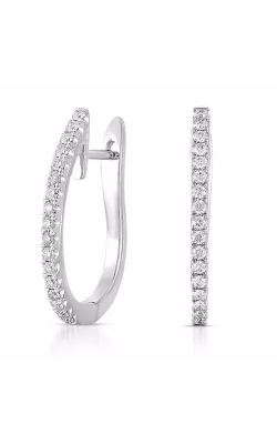 S. Kashi and Sons Hoop Earrings E7901WG product image