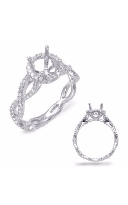 S. Kashi and Sons Criss Cross Engagement Ring EN7676WG product image