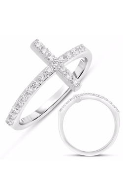 S. Kashi and Sons Crosses Fashion Ring D4350WG product image