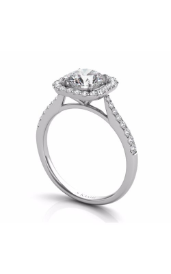 S. Kashi and Sons Halo Engagement Ring EN7400-1WG product image