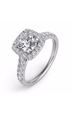 S. Kashi and Sons Halo Engagement Ring EN7452-75WG product image
