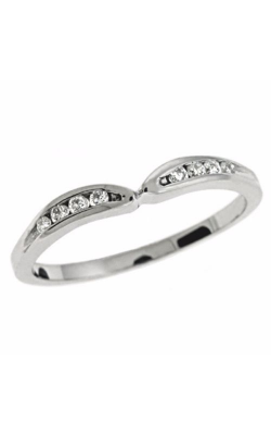 S. Kashi and Sons Curved Wedding Band EN1859-BWG product image
