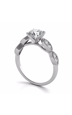S. Kashi and Sons Vintage Engagement Ring EN7437WG product image