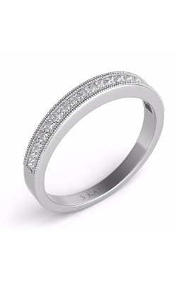 S. Kashi and Sons Princess Cut Wedding Band EN7232-BWG product image