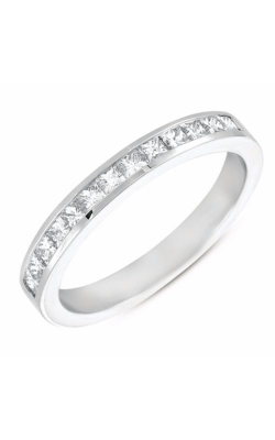 S. Kashi and Sons Princess Cut Wedding Band EN7171-BWG product image