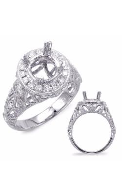 S. Kashi and Sons Vintage Engagement Ring EN7690-2WG product image