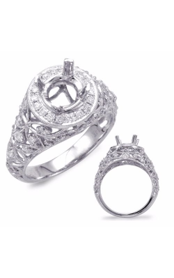 S. Kashi and Sons Vintage Engagement Ring EN7688WG product image