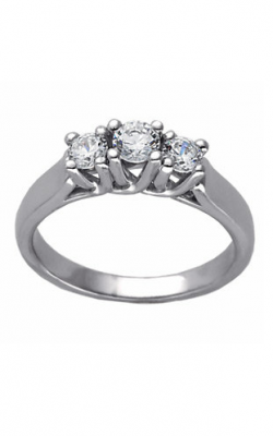 Stuller Three Stone Engagement Ring 64154 product image
