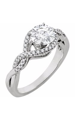 Stuller Halo Engagement Ring 651849 product image