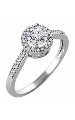 Stuller Halo Engagement Ring 651842 product image