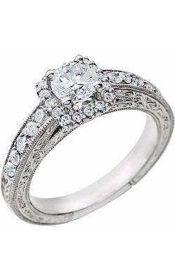 Stuller Halo Engagement Ring 651710 product image