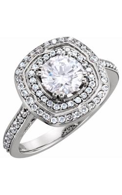 Stuller Halo Engagement Ring 122470 product image