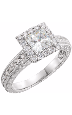 Stuller Halo Engagement Ring 651719 product image