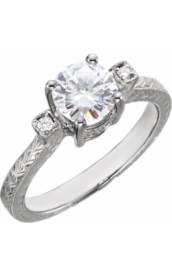Stuller Three Stone Engagement Ring 69823 product image