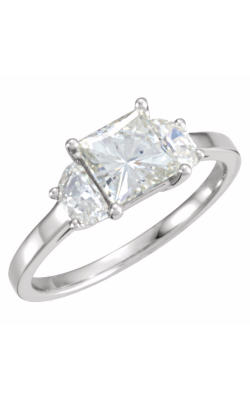 Stuller Three Stone Engagement Ring 68049 product image