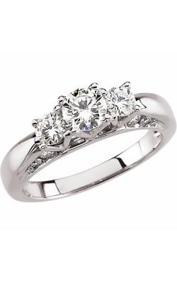 Stuller Three Stones Engagement Ring 63054 product image