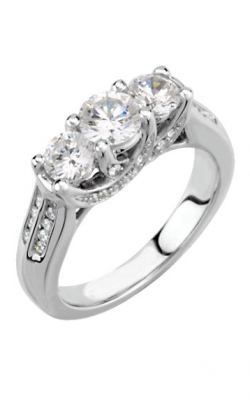 Stuller Three Stone Engagement Ring 64725 product image
