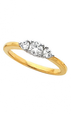 Stuller Three Stone Engagement Ring 60268 product image