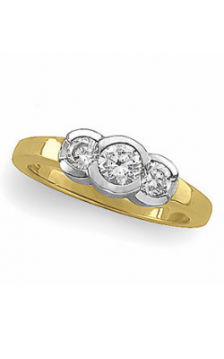 Stuller Three Stone Engagement Ring 64148 product image