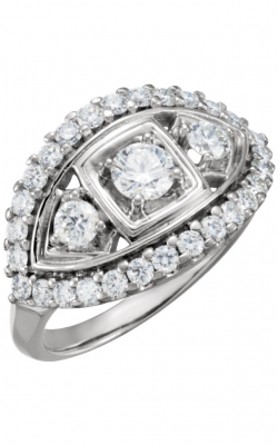 Stuller Three Stone Engagement Ring 64150 product image