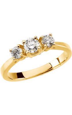 Stuller Three Stone Engagement Ring 60204 product image