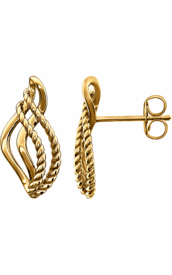 Stuller Metal Fashion Earrings 86149 product image