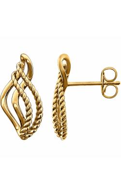 Stuller Metal Fashion Earrings 86149 product image