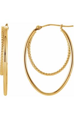 Stuller Metal Fashion Earrings 86059 product image