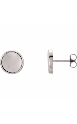 Stuller Metal Fashion Earrings 85882 product image