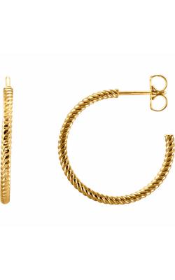 Stuller Metal Fashion Earrings 86111 product image