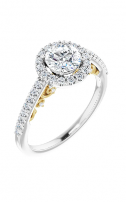 Stuller Halo Engagement Ring 122909 product image