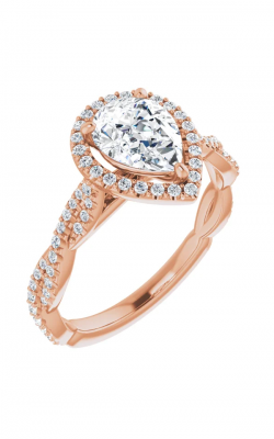 Stuller Halo Engagement Ring 123267 product image