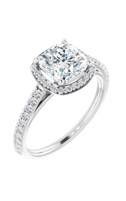 Stuller Halo Engagement Ring 121987 product image