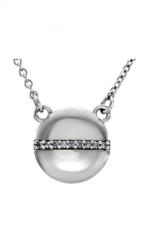 Stuller Diamond Fashion Necklace 86241 product image