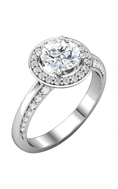 Stuller Halo Engagement ring 122689 product image