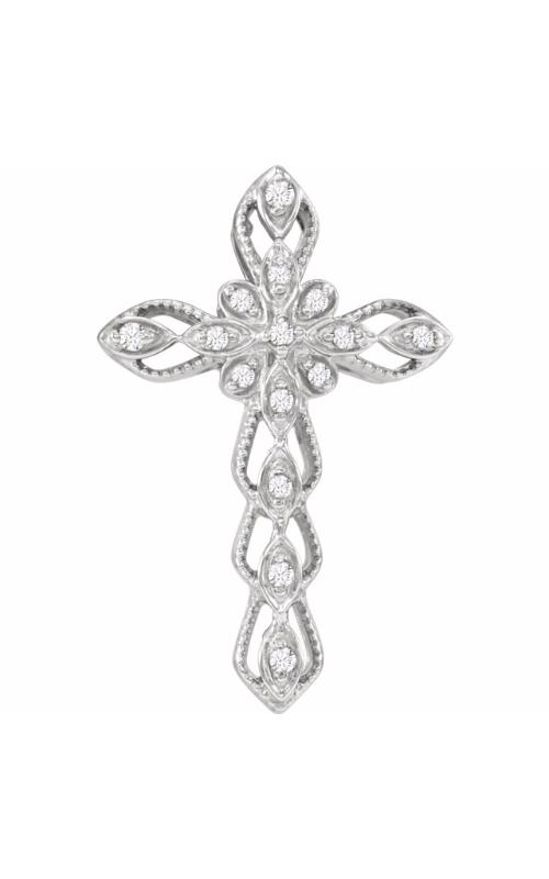 Stuller Diamond Fashion Necklace 651744 product image