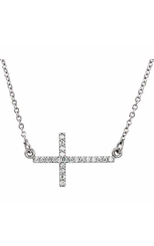 Stuller Diamond Fashion Necklace R42323 product image