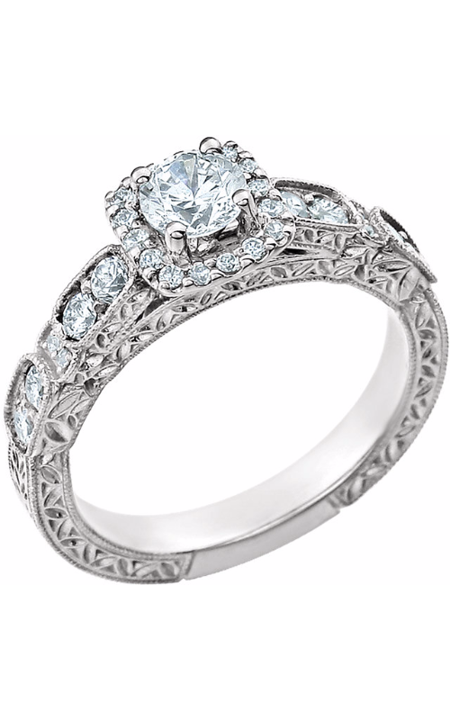 Stuller Halo Engagement ring 651714 product image