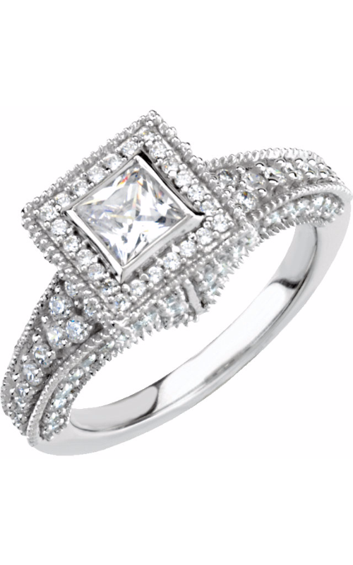 Stuller Halo Engagement ring 64067 product image