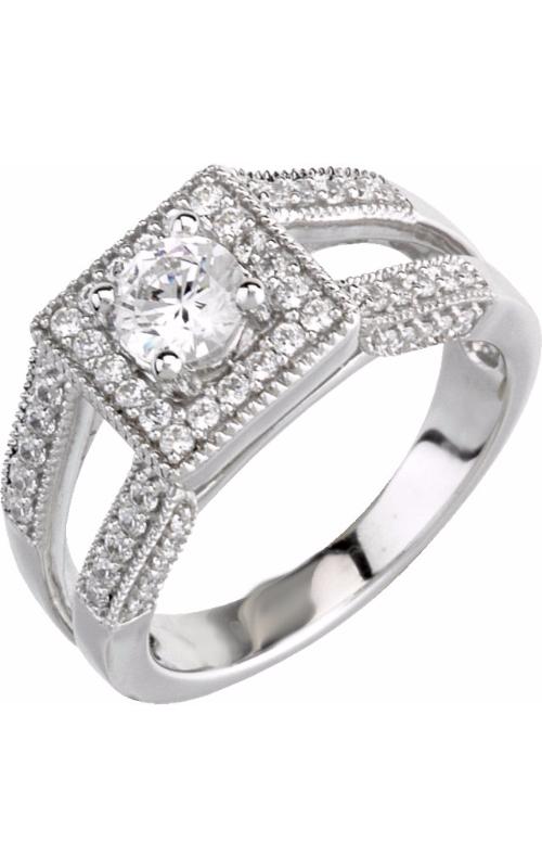 Stuller Halo Engagement ring 63983 product image