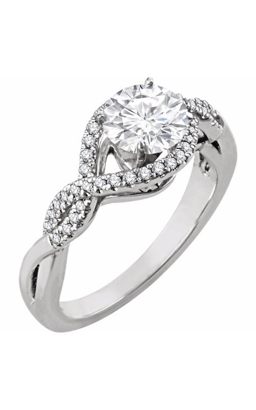 Stuller Halo Engagement ring 651849 product image