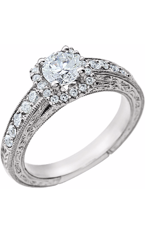 Stuller Halo Engagement ring 651710 product image