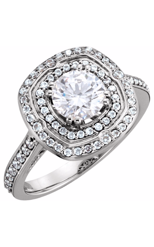 Stuller Halo Engagement ring 122470 product image