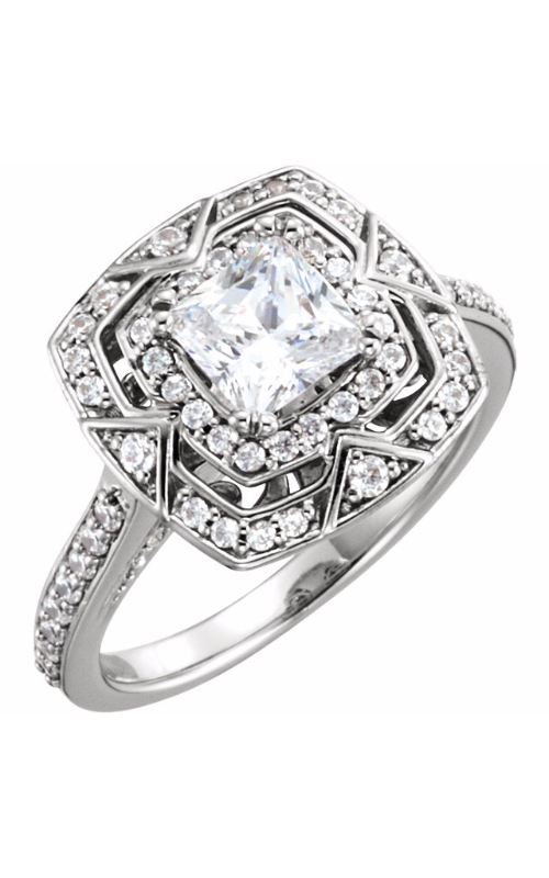 Stuller Halo Engagement ring 122482 product image