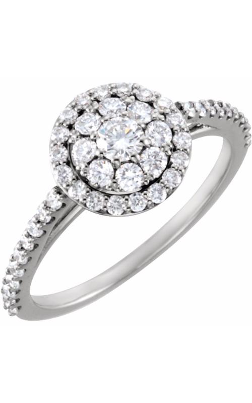 Stuller Halo Engagement ring 122023 product image