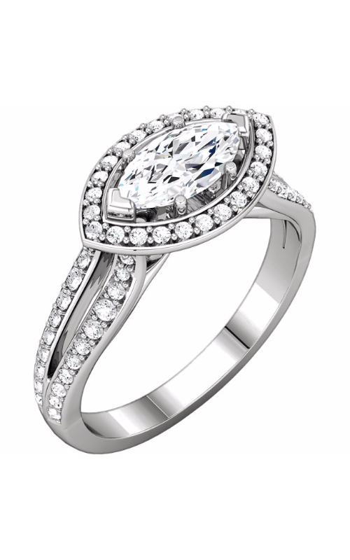 Stuller Halo Engagement ring 122040 product image